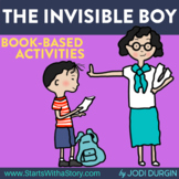 THE INVISIBLE BOY ACTIVITIES --- writing prompt character