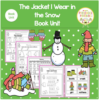 THE JACKET I WEAR IN THE SNOW  BOOK UNIT