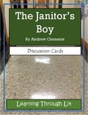 THE JANITOR'S BOY by Andrew Clements - Discussion Cards