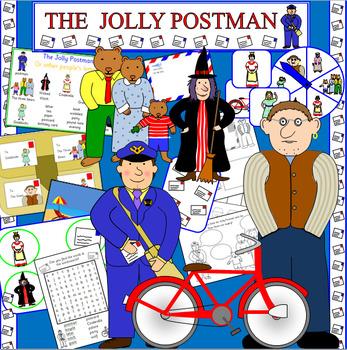 THE JOLLY POSTMAN book study