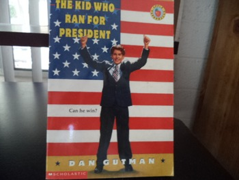 THE KID WHO RAN FOR PRESIDENT      ISBN 0-590-93988-2