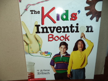 THE KIDS INVENTION BOOK   ISBN 0-439-27109-6