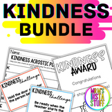 THE KINDNESS BUNDLE - 3 RESOURCES - WORLD KINDNESS DAY INCLUDED