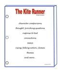 THE KITE RUNNER ACTIVITIES