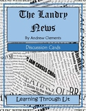 THE LANDRY NEWS by Andrew Clements - Discussion Cards