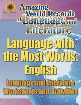 THE LANGUAGE WITH THE MOST WORDS: ENGLISH—Language Worksheets and Activities