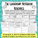 THE LEADERSHIP NOTEBOOK RESOURCE