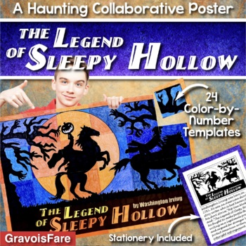 THE LEGEND OF SLEEPY HOLLOW Activity -- Collaborative Poster and Writing Project