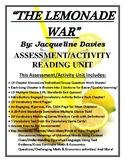 The Lemonade War Activity/Assessment 120 Page CCSS Reading Unit