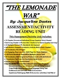 The Lemonade War Activity/Assessment 120 Page CCSS Reading Unit