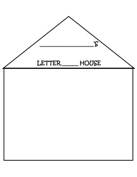 THE LETTER  HOUSE PRINTABLE