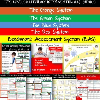 THE LEVELED LITERACY INTERVENTION LLI AND BENCHMARK ASSESSMENT SYSTEM BAS