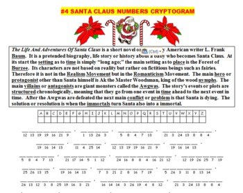 THE LIFE AND ADVENTURES OF SANTA CLAUS RETOLD! (FUN, COMMON CORE, 54 PP)