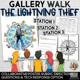 THE LIGHTNING THIEF, HERO'S JOURNEY GALLERY WALK, POSTER, RUBRIC, QUESTIONS