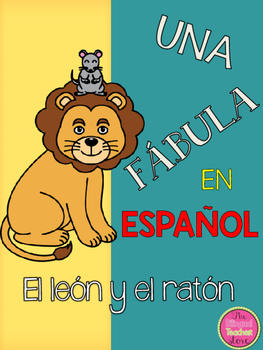 THE LION AND THE MOUSE IN SPANISH