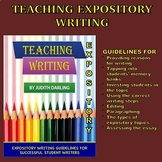 TEACHING WRITING - Expositroy