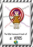 THE LITTLE HOMEWORK BOOK OF - VERBS