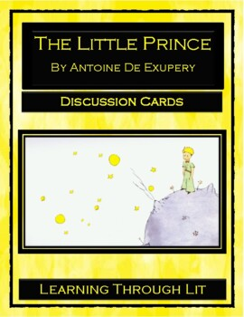 THE LITTLE PRINCE by Antoine de Saint Exupery - Discussion Cards