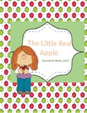 THE LITTLE RED APPLE SONG a great K-2 song for fall with m
