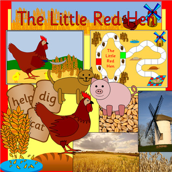 THE LITTLE RED HEN book study