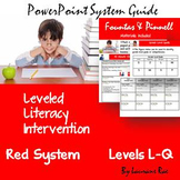 THE LLI {Leveled Literacy Intervention} RED SYSTEM & BAS R