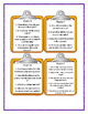 THE LONG WINTER Laura Ingalls Wilder - Discussion Cards