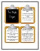 Roald Dahl THE MAGIC FINGER - Discussion Cards