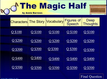 THE MAGIC HALF by Annie Barrows, Travel Back in Time to the Great Depression
