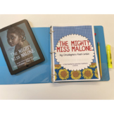The Mighty Miss Malone by Christopher Paul Curtis (CCSS aligned lit guide)
