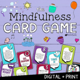 THE MINDFULNESS CARD GAME! Coping Skills for Focus, Calm & Classroom Management