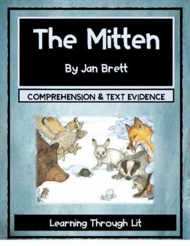 Jan Brett THE MITTEN - Comprehension & Text Evidence