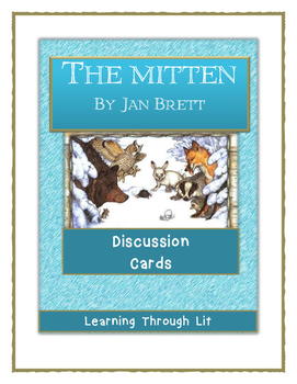 Jan Brett THE MITTEN - Discussion Cards