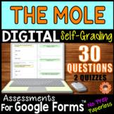 THE MOLE ~ Self-Grading Quiz Assessments for Google Forms