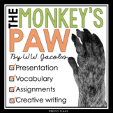 THE MONKEY'S PAW BY W.W. JACOBS PRESENTATION & ASSIGNMENTS