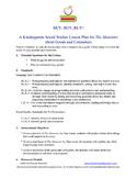 THE MONSTORE by Tara Lazar Kindergarten SS Lesson Plan on