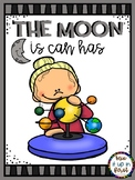 THE MOON IS CAN HAS