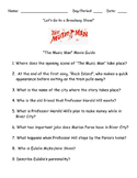 "LET'S GO TO A BROADWAY SHOW:  THE MUSIC MAN MOVIE GUIDE-""BACK TO SCHOOL"""