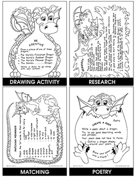 THE MYSTERIOUS WORLD OF DRAGONS Gr. 2-4