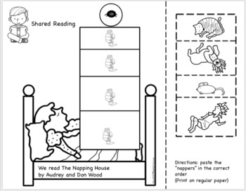 THE NAPPING HOUSE  BOOK UNIT