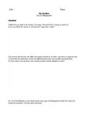 THE NECKLACE BY GUY DE MAUPASSANT COMPREHENSION QUESTIONS HANDOUT