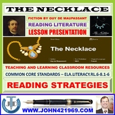 THE NECKLACE - STORY COMPREHENSION - LESSON PRESENTATION