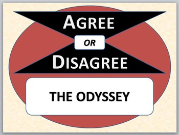 THE ODYSSEY - Agree or Disagree Pre-reading Activity