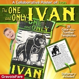 THE ONE AND ONLY IVAN Character Activity: A Collaborative Poster of IVAN