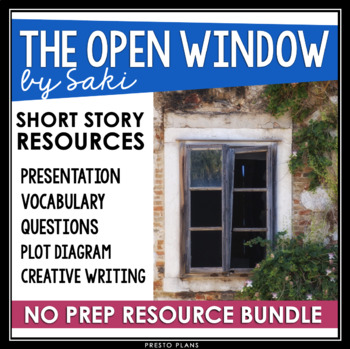 THE OPEN WINDOW BY SAKI PRESENTATION & ASSIGNMENTS