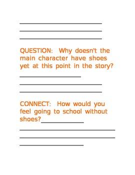 THE ORANGE SHOES--TEACHING THEME THROUGH CHILDREN'S LITERATURE
