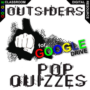 THE OUTSIDERS 12 Pop Quizzes (Created for Digital)
