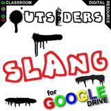 THE OUTSIDERS 34 Slang Phrases - Spraypaint Graffiti (Crea