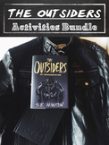 THE OUTSIDERS ACTIVITY BUNDLE