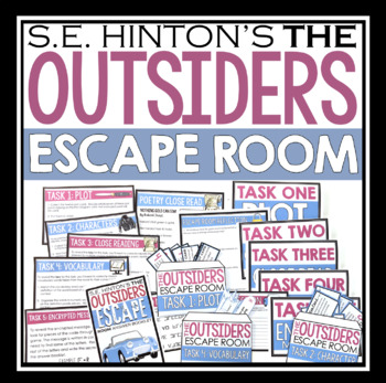 The outsiders plot teaching resources teachers pay teachers the outsiders escape room novel activity the outsiders escape room novel activity fandeluxe Gallery