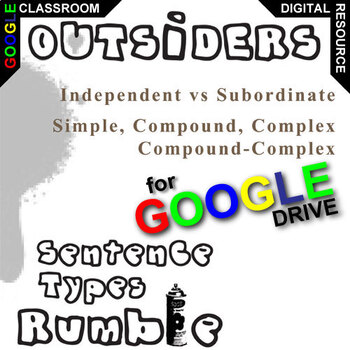 THE OUTSIDERS Phrases, Clauses, and Sentence Types (Created for Digital)
